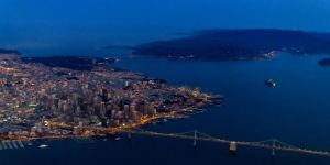 San Francisco from the Sky by thevictor2225