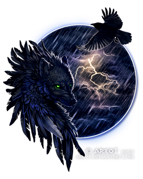Stormy night by areot