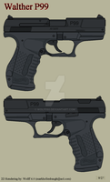 Walther P99 by Wolff60