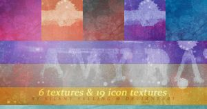 25 Textures by Silent-yelling