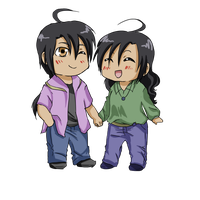 PC_Carter and Shun by fmabigfan
