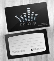 Barron CP Logo and Business Card Design by ipholio
