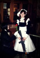 On Bended Knee by zombie-tea-party