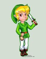 Wind Waker Hero Link by TrippinDippy