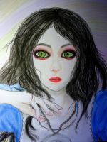 ALice Madness Returns : Drawing/paint by Nani-Dechuka