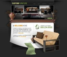 Website interfaces by dellustrations