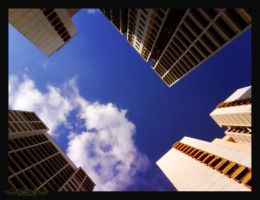Among The Buildings.. by gwend-n