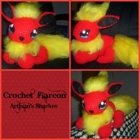 Flareon (Prometheus) by ArtisansShadow