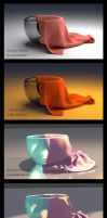Cup and Cloth - Process by AutodidactArtAcademy
