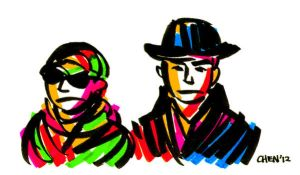 COLORFUL PET SHOP BOYS by WeirdChenDA
