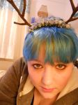 Homemade antlers 2 by Drinya