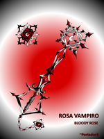 rosa vampiro -bloody rose- by portadorX