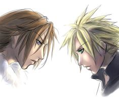 Face to face by Kingdom-Hearts-Yaoi