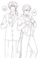 Men in Suits by anubis0055