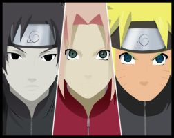 SSN - The New Team 7 by gabi-s