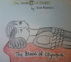 HoO New Cover 5/5 - The Blood of Olympus by MissMartian4ever