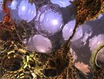 The Caverns Beneath Europa by psion005