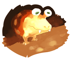 bulborb by sweating