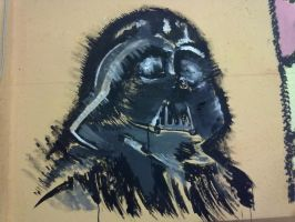 Vader Wall by infinitiathanasia