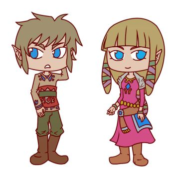 Skyward Sword Stickers 2 by Zorafish