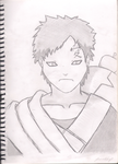 Gaara of the Sand by theLostOutcast