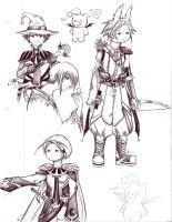 FF Tactics Advance Doodle by JomoJo