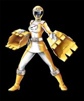 POWER RANGERS OPERATION OVERDRIVE - YELLOW RANGER by DXPRO