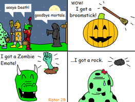 Runescape Halloween 2007 by Riptor25