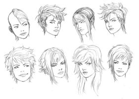 punky girl hair 4-10 by timflanagan