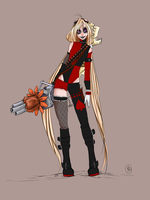 Jinx the Miss Pudding { skin concept} by PUUY