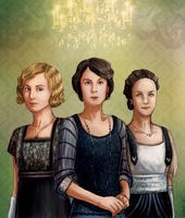 The Crawley Sisters by mumpo