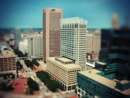 Baltimore tilt-shift 2 by cheyrek