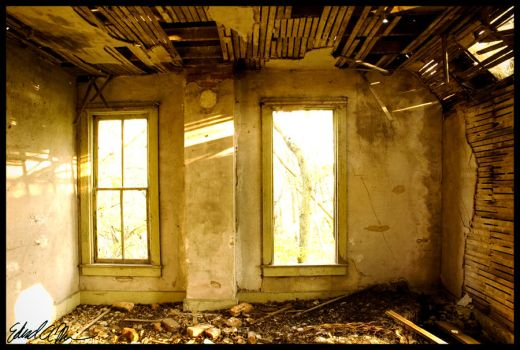 Look through the windows. by give-up