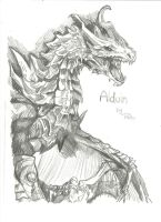 Alduin by royalsmiley