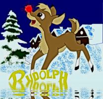 Rudolph and logo by rusdeer