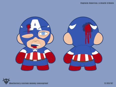 Tribute Captain America Death by moofactory