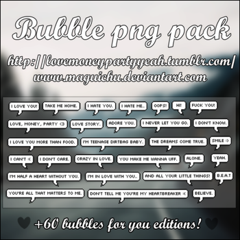 +Bubble Pack PNG (LINK) by Maguichu