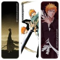 BLEACH: Ichigo bookmark by AzumiOctania25