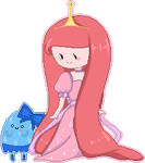 Princess Bubblegum Pixel by natto-ngooyen