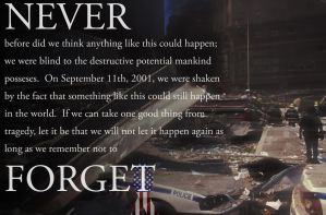 September 11th Visual Project by haymakers9th