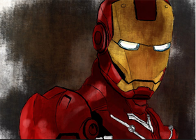 Iron Man by Alex-Porteous