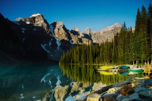 Moraine Lake II by kalicobay