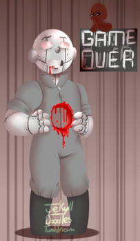 GAME OVER 2 (gif) by JARGURL