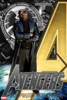 Poster Nick Fury Avengers by Alex4everdn