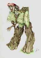 Fungus man and treebeast color by firesprite