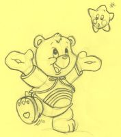 Baby Cheer Bear by kenaibear