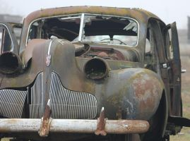Battlescarred Buick by finhead4ever