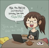 Ask the Artist Interview by Zombiesmile