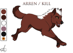 Arren Reference sheet 2011 by Starwuff