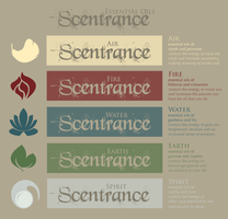 Scentrance - Logos/Logotypes/Product Description by KimNichole